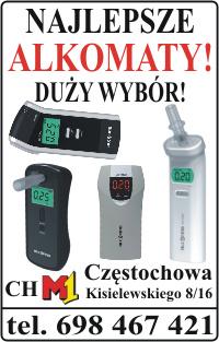Alkomaty, alkomat Częstochowa