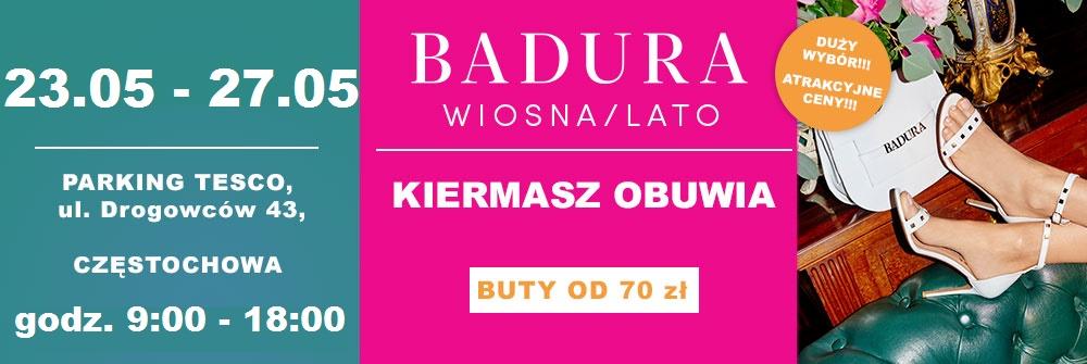 Badura kiermasz Częstochowa 23.05 - 27.05