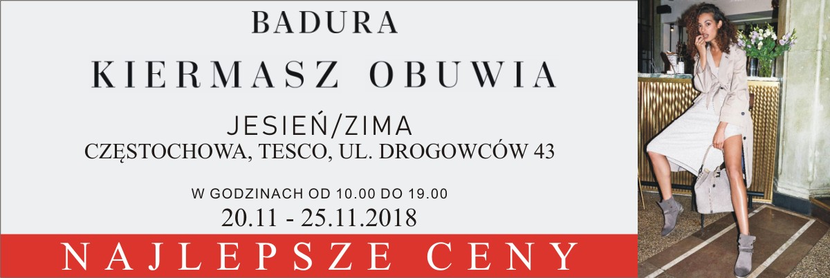 Badura Kiermasz Obuwia 20.11-25.11.2018