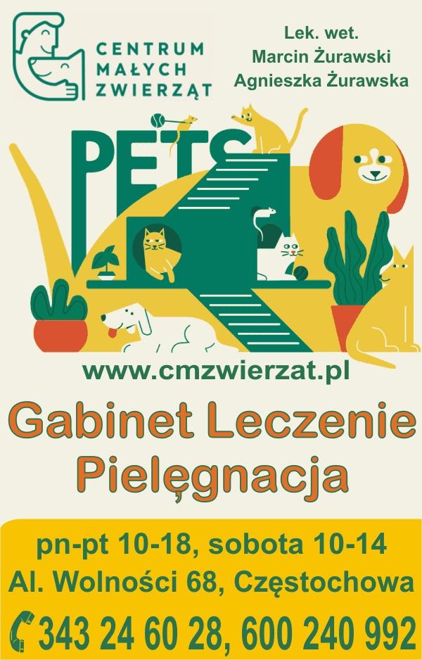Centrum Małych Zwierząt Gabinet Weterynaryjny Częstochowa