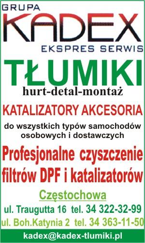 KADEX Tłumiki