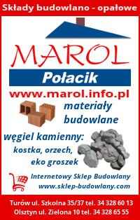 MAROL - Składy budowlano-opałowe, materiały budowlane, materiały opałowe, narzędzia