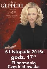 """Edyta Geppert z zespołem VASIE"""" w Częstochowie"""