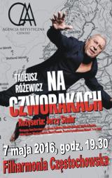 Na Czworakach, 7 maja 2016r, Filharmonia Częstochowska