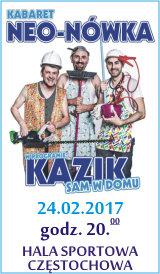 Kabaret Neo-Nówka Kazik Sam w Domu