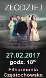 Złodziej. 27.02.2017. Filharmonia Częstochowska