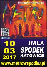 Metro. Hala Spodek Katowice. 10.03.2017