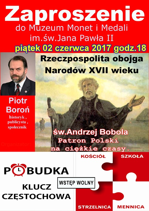 Piotr Boron Andrzej Bobola