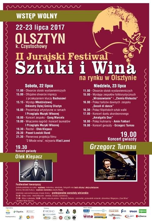 II Jurajski Festiwal Sztuki i Wina
