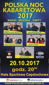 Polska Noc Kabaretowa 2017 Częstochowa