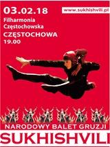 Sukhishvili w Częstochowie 03.02.2018