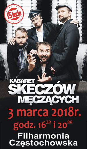 Kabaret Skeczów Męczących 3.03.2018