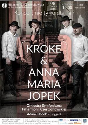 Kroke & Anna Maria Jopek Filharmonia Częstochowska 8.03.2018