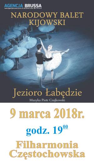 Jezioro Łabędzie Częstochowa 9.03.2017 Filharmonia Częstochowska