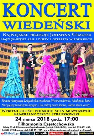 Koncert Wiedeński 24.03.2018 Częstochowa