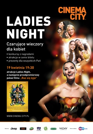Ladies Night 19.04.2018 Częstochowa Cinema City