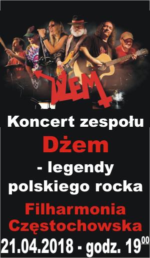 Dżem koncert 21.04.2018 Częstochowa