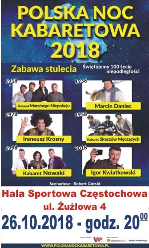 26.10.2018 Polska Noc Kabaretowa 2018