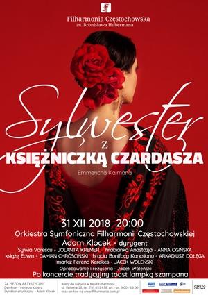 Sylwester z Księżniczką Czardasza Filharmonia Częstochowska
