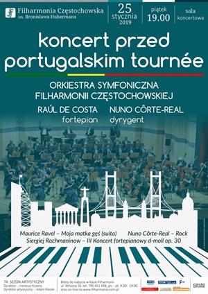 Koncert przed portugaslkim turnee