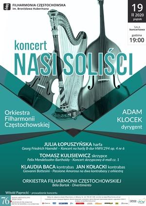 Koncert nasi soliści