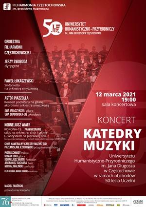 Koncert katedry muzyki