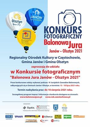 Konkurs fotograficzny balonowa jura