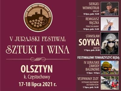V Jurajski festiwal sztuki i wina