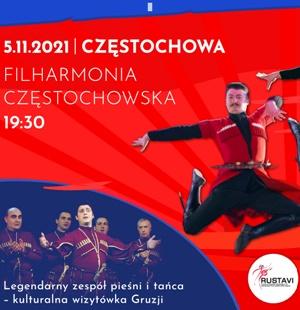 Rustavi Filharmonia Częstochowska 5.11.2021