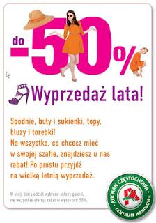 Lato wita promocjami w Poczesnej!