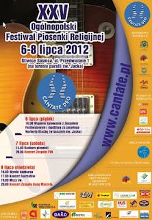 Już w piątek początek festiwalu Cantate Deo