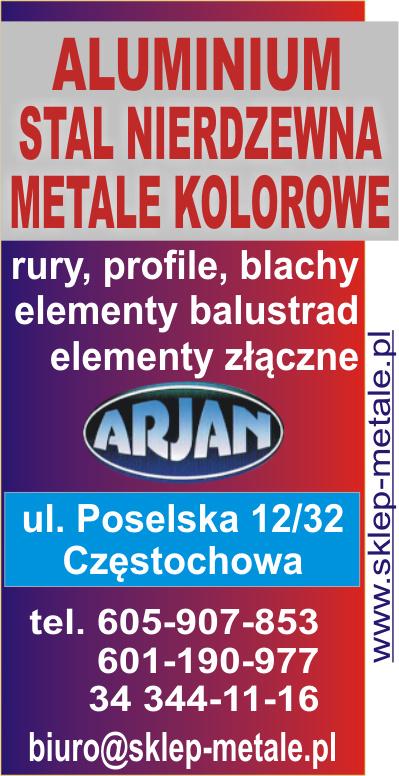 Metalkaz - wyroby z metali nieżelaznych (aluminium, brąz, miedź, mosiądz, ołów,tytan-cynk),materiały ze stali nierdzewnej i kwasoodpornej,tworzywa konstrukcyjne
