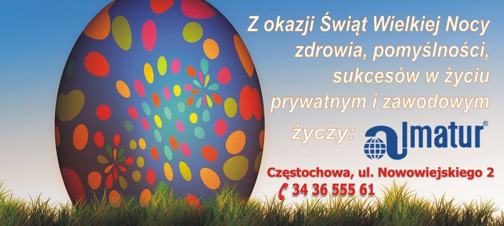 Życzenia Wielkanocne Almatur