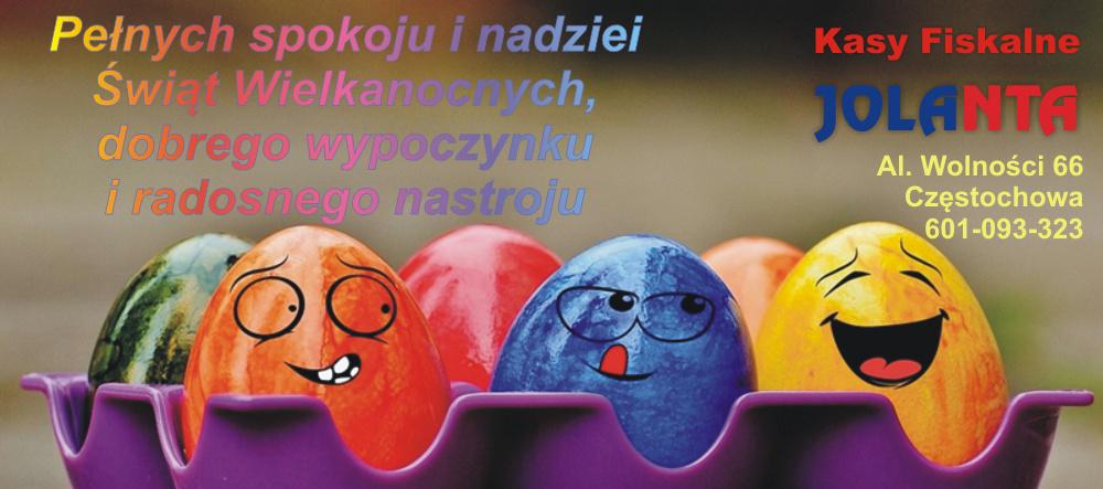 Życzenia Wielkanocne Kasy Fiskalne Częstochowa