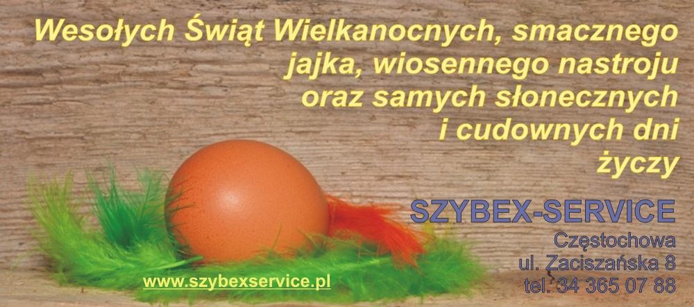 Życzenia Wielkanocne Szybex Service