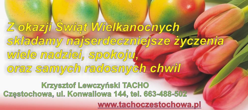 Życzenia Wielkanocne Tacho